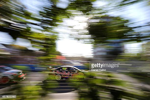 Craig Lowndes drives the Red Bull Racing Australia Holden during race 31 for the Gold Coast 600 which is round 12 of the V8 Supercars Championship...