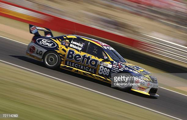 Craig Lowndes of Team Betta Electrical in action during the V8 Supercars Bathurst 1000 at the Mount Panorama Circuit October 8 2006 in Bathurst...