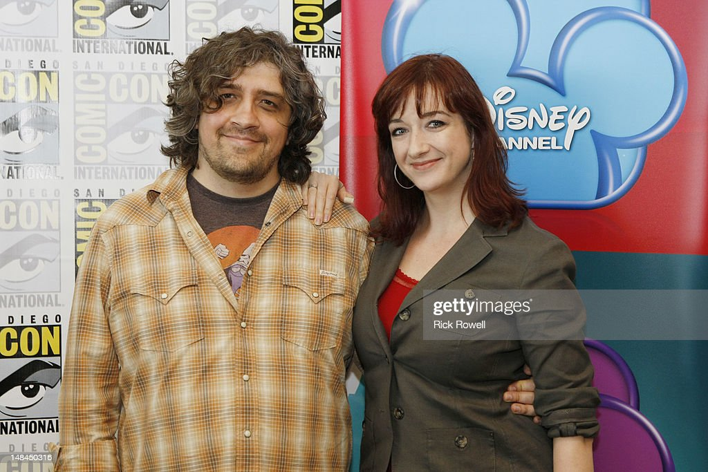 ANIMATION - Craig McCracken and Lauren Faust from Disney Channel's 'Wander Over Yonder' participate in media interviews at Comic-Con International in San Diego, Calif. (July 14). CRAIG MCCRACKEN (CREATOR, 'WANDER OVER YONDER'), LAUREN