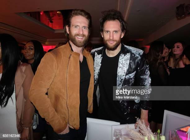 Craig McGinlay and guest attend the Elle Style Awards 2017 after party at on February 13 2017 in London England