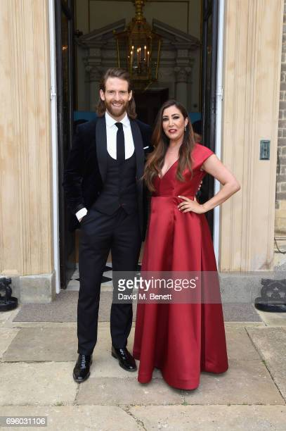 Craig McGinlay and Maria Bravo attend the Global Gift Gala for The Diana Award hosted by Earl Spencer at Althorp House on June 14 2017 in Northampton...
