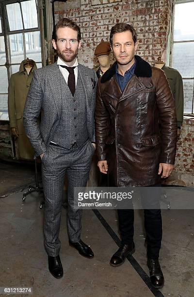 Craig McGinlay and Paul Sculfor attend the launch of the Kent Curwen collection during London Fashion Week Men's January 2017 collections at Oxo...