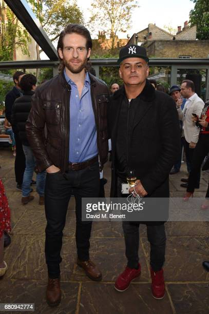Craig McGinlay and Stuart Watts attend The Ivy Chelsea Garden's 2nd anniversary party on May 9 2017 in London England