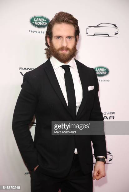Craig McGinlay arrives at the launch of the New Range Rover Velar on March 1 2017 in London United Kingdom