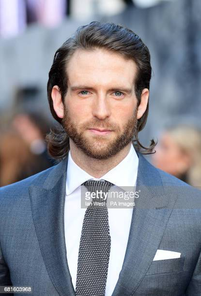 Craig McGinlay arriving for the King Arthur European Premiere held at the Odeon Leicester Square London