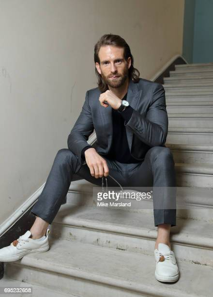 Craig Mcginlay attends London Fashion Week Men's June 2017 collections on June 12 2017 in London England