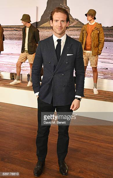 Craig McGinlay attends the Barbour presentation during The London Collections Men SS17 at on June 10 2016 in London England