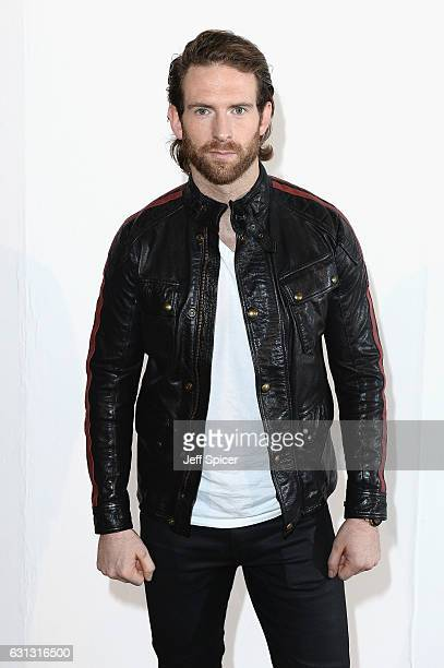 Craig McGinlay attends the Belstaff presentation during London Fashion Week Men's January 2017 collections at Ambika P3 on January 9 2017 in London...