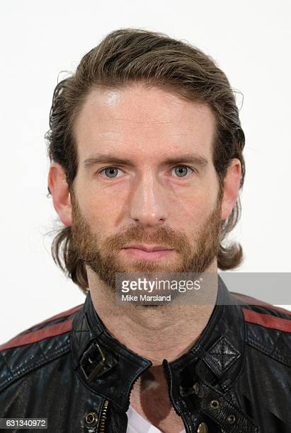 Craig McGinlay attends the Belstaff presentation during London Fashion Week Men's January 2017 collections at on January 9 2017 in London England