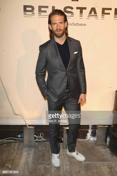 Craig McGinlay attends the Belstaff Presentation during London Fashion Week Men's June 2017 collections on June 12 2017 in London England