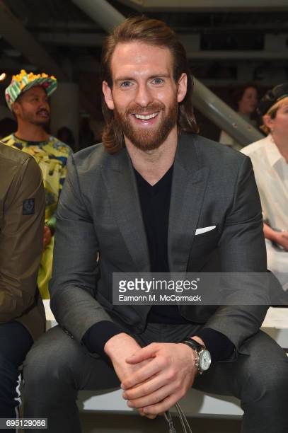 Craig McGinlay attends the Bobby Abley show during London Fashion Week Men's June 2017 collections on June 12 2017 in London England