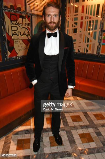 Craig McGinlay attends the InStyle EE Rising Star Party ahead of the EE BAFTA Awards at The Ivy Soho Brasserie on February 1 2017 in London England