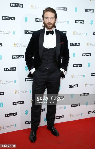 Craig McGinlay attends the InStyle EE Rising Star Party at the Ivy Soho Brasserie on February 1 2017 in London England