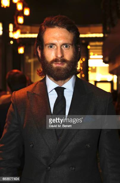 Craig McGinlay attends the launch of new men's magazine 'The Jackal' at Veneta on March 15 2017 in London England