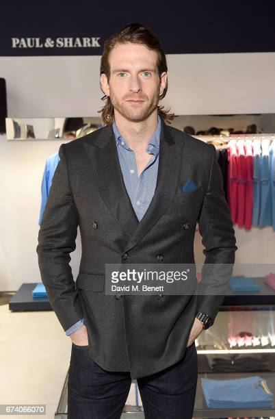 Craig McGinlay attends the launch of the Paul Shark Regent Street Store on April 27 2017 in London England