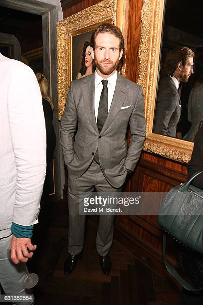 Craig McGinlay attends the London Fashion Week Men's closing night dinner hosted by Dylan Jones Jefferson Hack and the LFWM ambassadors at MNKY HSE...