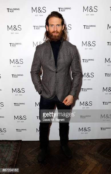 Craig McGinlay attends the MS Tailoring Talk on October 3 2017 in London England