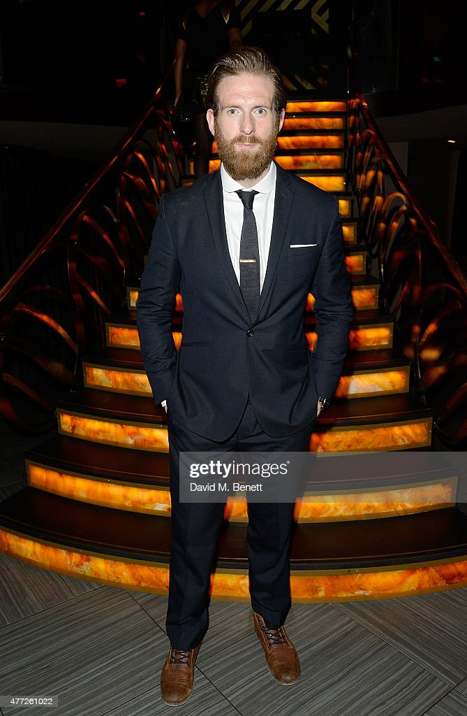 Craig McGinlay attends the ShortList and House of Fraser London Collections Men closing night party 2015 at Quaglino's on June 15 2015 in London...