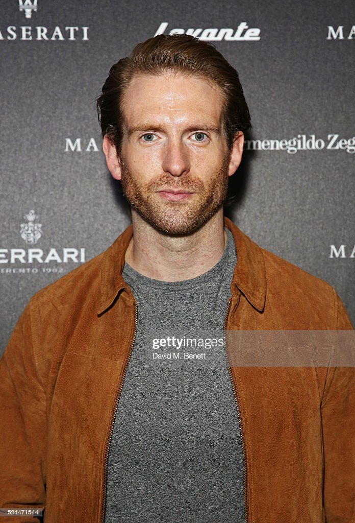 Craig Mcginlay attends the UK VIP reveal of the Maserati Levante SUV at The Royal Horticultural Halls on May 26, 2016 in London, England.