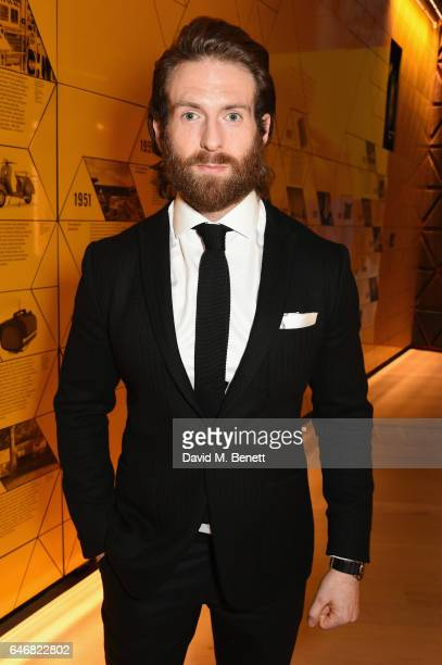 Craig McGinlay attends the world premiere launch of the new Range Rover Velar at Design Museum on March 1 2017 in London England