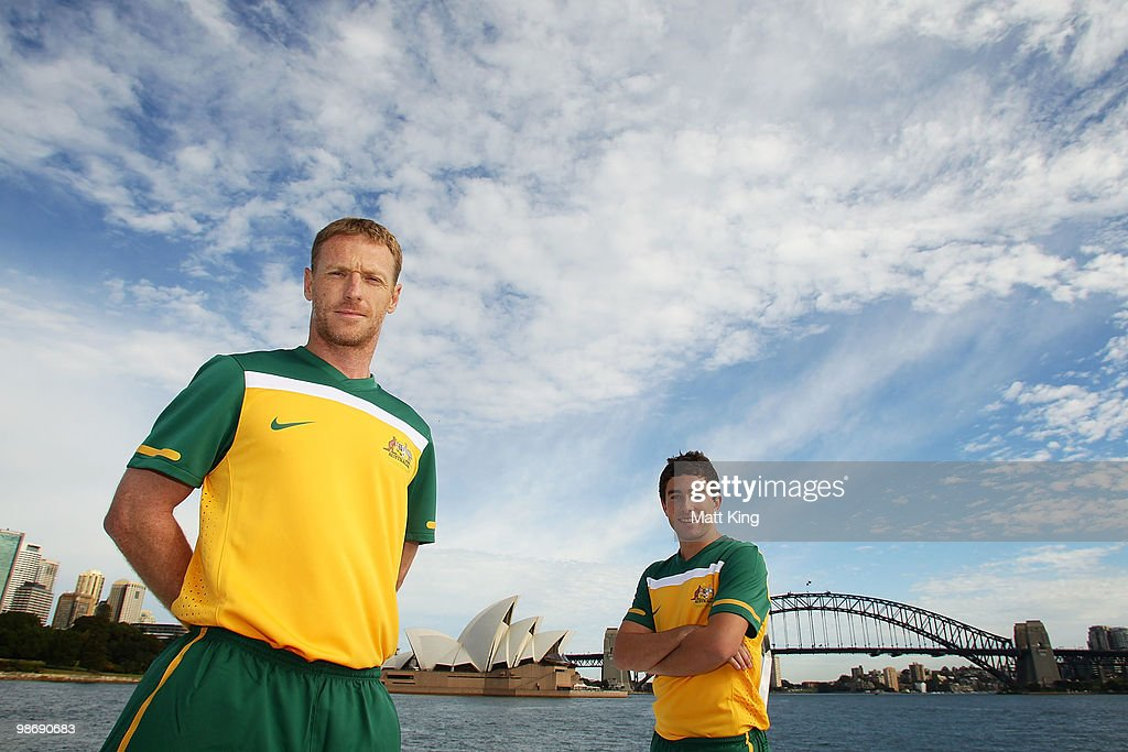 Nike Unveil Socceroos Home Jersey