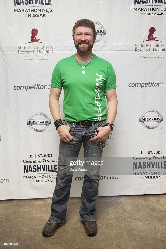 Craig Morgan attends the St Jude Country Music Marathon and Half Marathon Post Race Concert presented by Nissan on April 27, 2013 in Nashville, Tennessee.