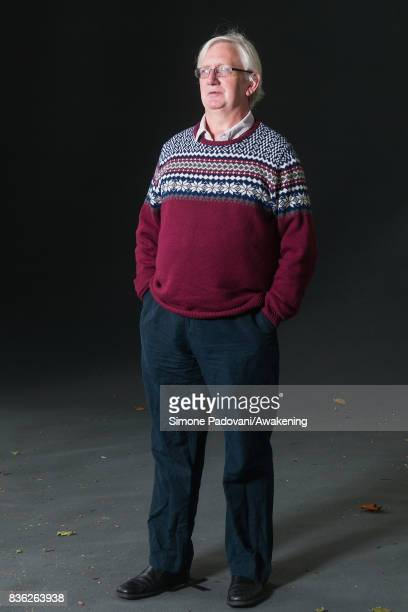 Craig Murray attend a photocall during the Edinburgh International Book Festival on August 21 2017 in Edinburgh Scotland