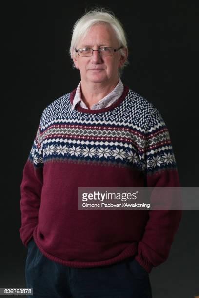Craig Murray attends a photocall during the Edinburgh International Book Festival on August 21 2017 in Edinburgh Scotland