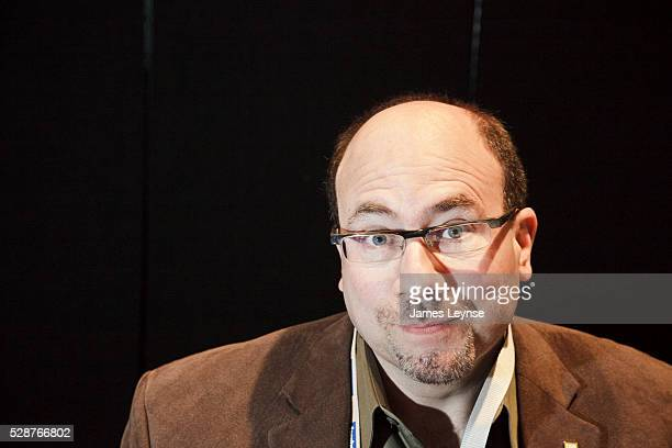 Craig Newmark founder of Craigslist speaks at the Personal Democracy Forum in New York