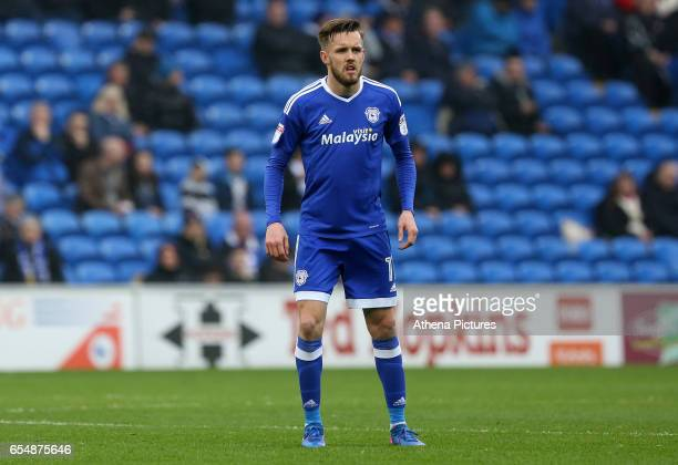 Craig Noone of Cardiff City during the Sky Bet Championship match between Cardiff City and Ipswich Town at The Cardiff City Stadium on March 18 2017...