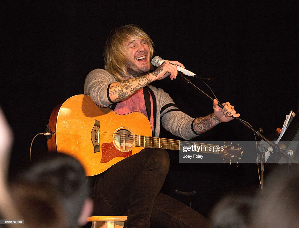 Craig Owens performs at The Irving Theater on November 4, 2012 in Indianapolis, Indiana.