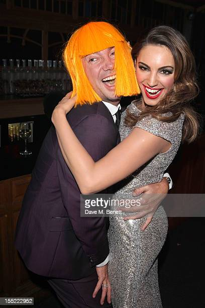 Craig Revel Horwood and Kelly Brook attend the premiere of 'Forever Crazy' at Crazy Horse on November 1 2012 in London England