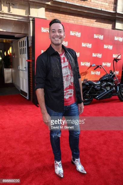 Craig Revel Horwood attends the press night performance of 'Bat Out Of Hell The Musical' at The London Coliseum on June 20 2017 in London England
