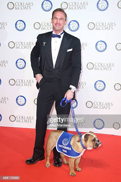 Craig Revell Horwood attends the annual Collars Coats Gala Ball in aid of The Battersea Dogs Cats home at Battersea Evolution on October 30 2014 in...