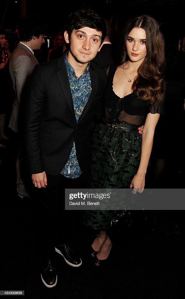 Craig Roberts (L) and Sai Bennett attend an after party following the Moet British Independent Film Awards 2013 at Old Billingsgate Market on December 8, 2013 in London, England.