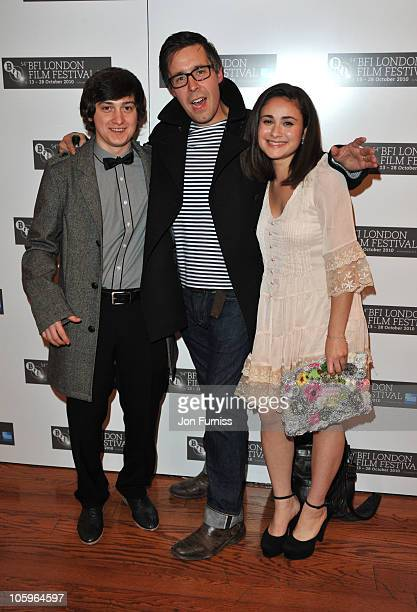 Craig Roberts and Yasmin Paige attend the BFI screening of 'Submarine' at Vue Leicester Square on October 22 2010 in London England