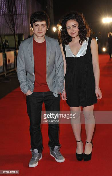 Craig Roberts and Yasmin Paige attends the UK premiere of 'Submarine' at BFI Southbank on March 15 2011 in London England
