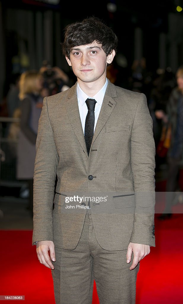 Craig Roberts attends a screening of 'The Double' during the 57th BFI London Film Festival at Odeon West End on October 12, 2013 in London, England.