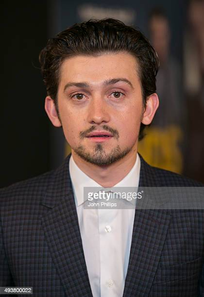 Craig Roberts attends the 'Kill Your Friends' UK Premiere at Picturehouse Central on October 22 2015 in London England