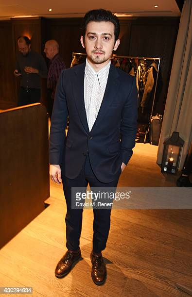 Craig Roberts attends the nominations announcement for The London Critics' Circle Film Awards at The May Fair Hotel on December 20 2016 in London...