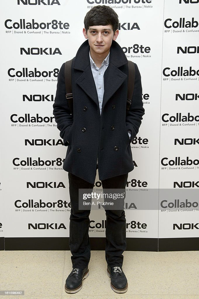 Craig Roberts attends the premiere of Rankin's Collabor8te connected by NOKIA at Regent Street Cinema on February 12, 2013 in London, England.