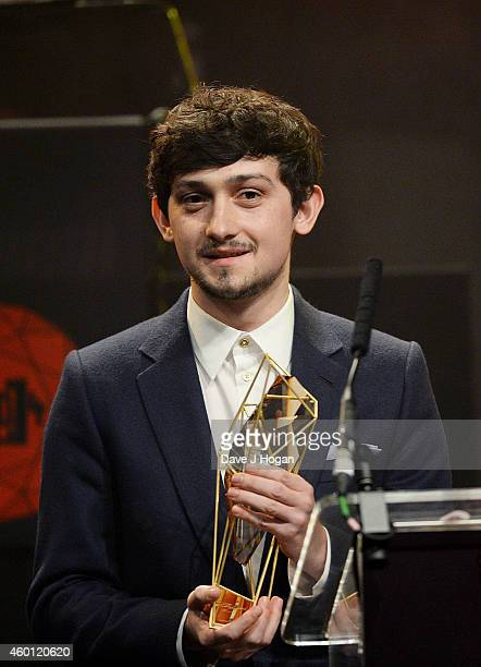 Craig Roberts on stage at the Moet British Independent Film Awards 2014 at Old Billingsgate Market on December 7 2014 in London England