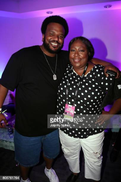 Craig Robinson and Loni Love attend the 2017 Essence Festival on July 2 2017 in New Orleans Louisiana