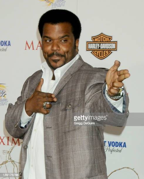 Craig Robinson arrives at the 11th Annual Maxim Hot 100 Party at Paramount Studios on May 19 2010 in Los Angeles California