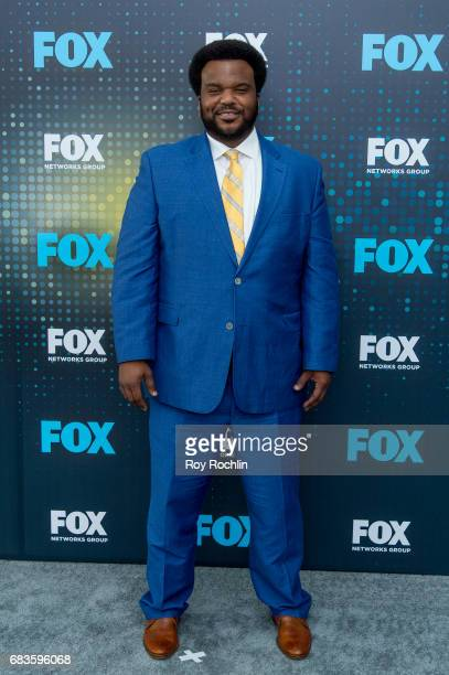 Craig Robinson attends the 2017 FOX Upfront at Wollman Rink Central Park on May 15 2017 in New York City