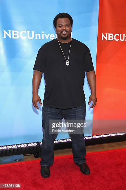 Craig Robinson attends the NBC's 2015 New York Summer Press Day at Four Seasons Hotel New York on June 24 2015 in New York City