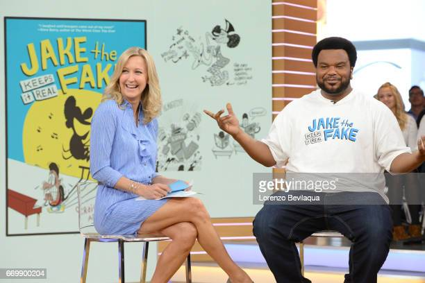 AMERICA Craig Robinson is a guest on 'Good Morning America' Monday April 17 2017 airing on the ABC Television Network LARA