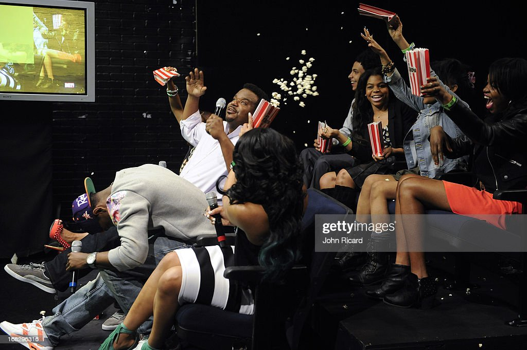 Craig Robinson visits BET's '106 & Park' at BET Studios on May 6, 2013 in New York City.