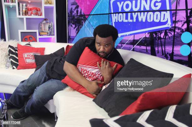 Craig Robinson visits the Young Hollywood Studio on April 7 2017 in Los Angeles California