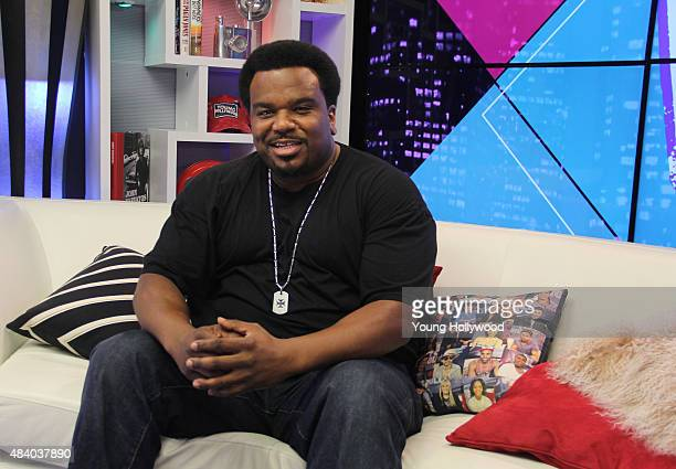 Craig Robinson visits the Young Hollywood Studio on August 12 2015 in Los Angeles California